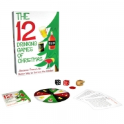 The 12 Drinking Games of Christmas from Kheper Games are sure to help put the holiday spirit into your holiday festivities.